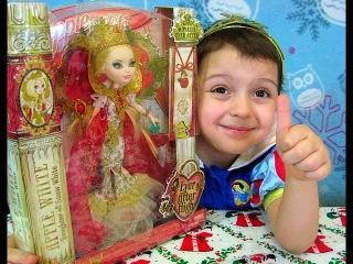 Кукла Эвер Афтер Хай Эппл Вайт Королевская кукла (Ever After High Apple White Royally)