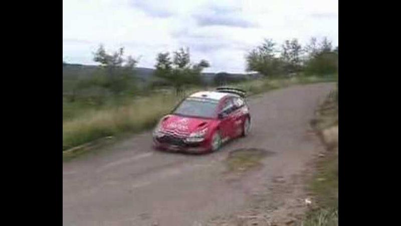 WRC Citroen Test 2007 Sebastian Loeb