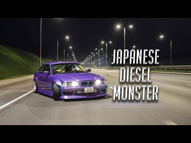 Wrong36 Diesel Street Drifting - E36 330d