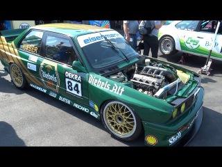 Ex DTM Tourenwagen Classics Pure engine sound.