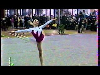 Алина Кабаева - обруч // Чемпионат России 1998