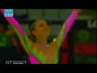 Алина Кабаева - лента (многоборье) // Чемпионат Европы 1998