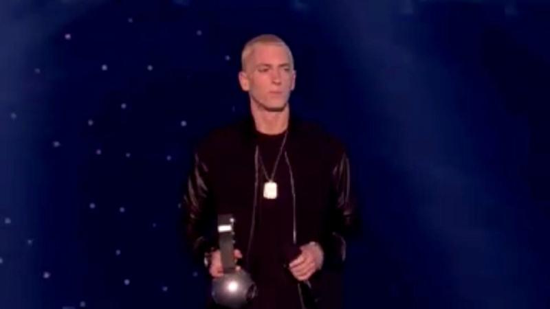 Eminem - Лучший хип-хоп исполнитель / Eminem On MTV EMA In Amsterdam[2013]
