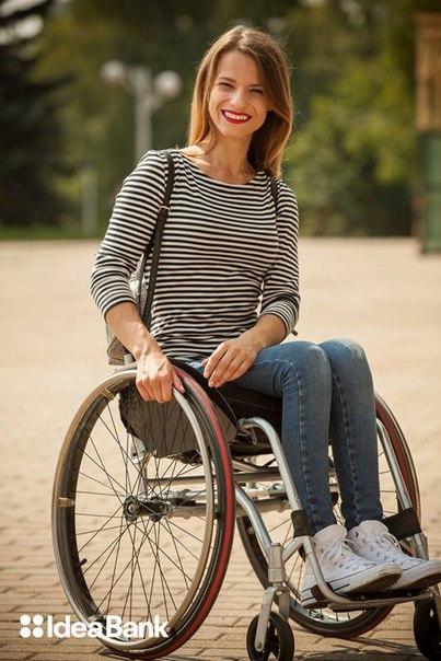 Очаровательная белоруска участвует в «Мисс мира на коляске!»Александ