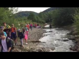 Поход. Незабываемый отдых в Карпатах (лагерь) -29.07.17