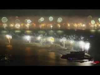 В Дубаи новогодний салют попал в книгу рекордов