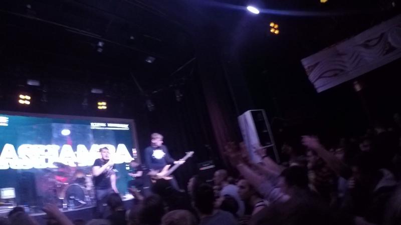 Rashamba crowdsurfing