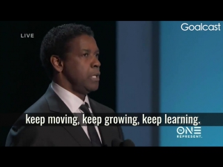 Denzel Washington - Keep Working!