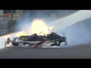 Авария в квалификации Инди-500 2017 года