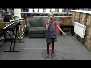 Песня красной шапочки (репетиция перед отчетным концертом)