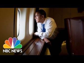 President Obama Makes Final Trip On Air Force 1   NBC News
