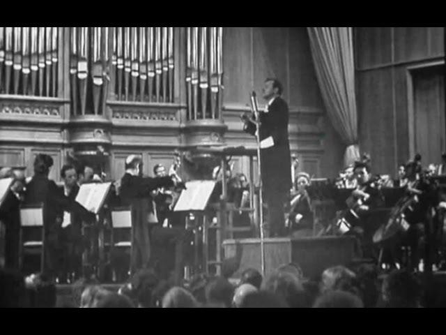 Evgeny Svetlanov conducts Rachmaninoff Symphony no. 2 - video 1973