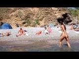 Нудисты в Одессе. Чкаловский пляж. Nudists in Odessa. [ALFVideo]