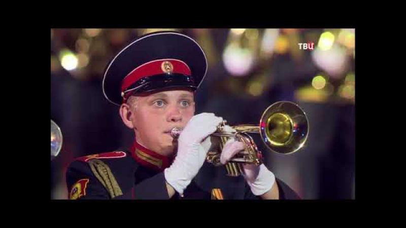 Спасская башня 2017 Фестиваль военных оркестров на Красной площади
