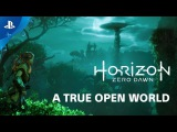 Horizon Zero Dawn A True Open World - Countdown to Launch at PS Store  PS4