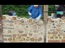 Construction créative en Bois cordé (1) : Alain Richard