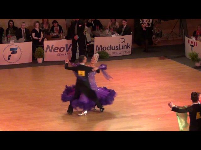 Brno Open 2012 - Paolo Bosco - Joane Clifton - Viennese Waltz