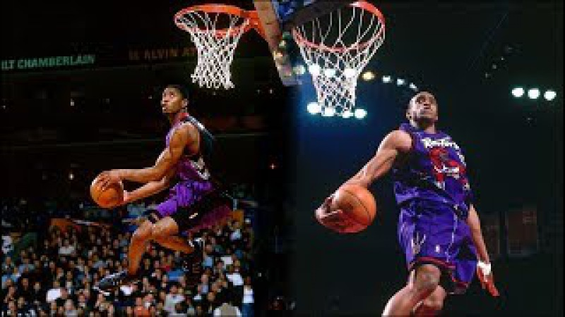 VINCE CARTER VERSUS TRACY McGRADY | NBA SLAMDUNK CONTEST 2000