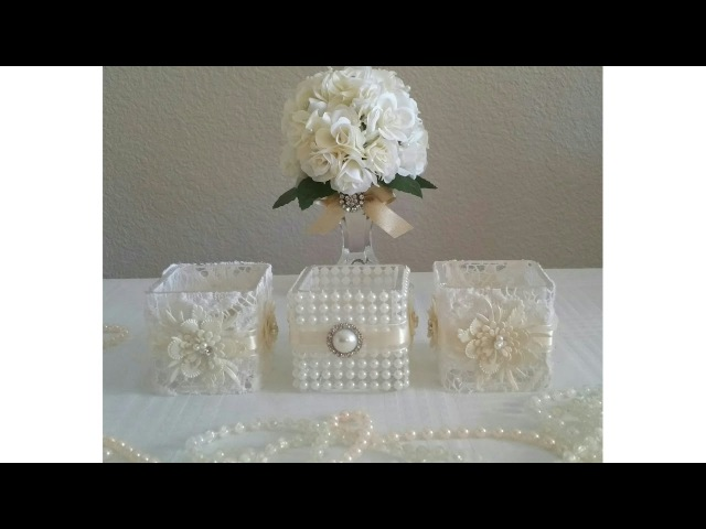 INEXPENSIVE VICTORIAN STYLE 5 PIECE CANDLE HOLDER DECOR 2017- 2018 | INEXPENSIVE WEDDING DIY