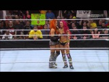 WWE RAW Naomi vs Sasha Banks