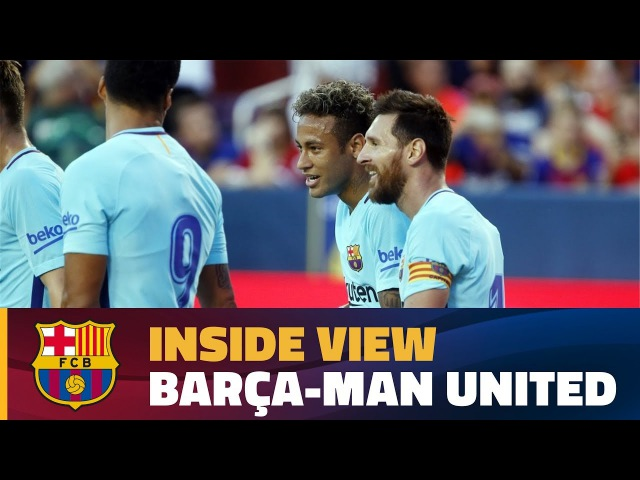 INSIDE TOUR | Behind the scenes Barça - Manchester United (ICC 2017)
