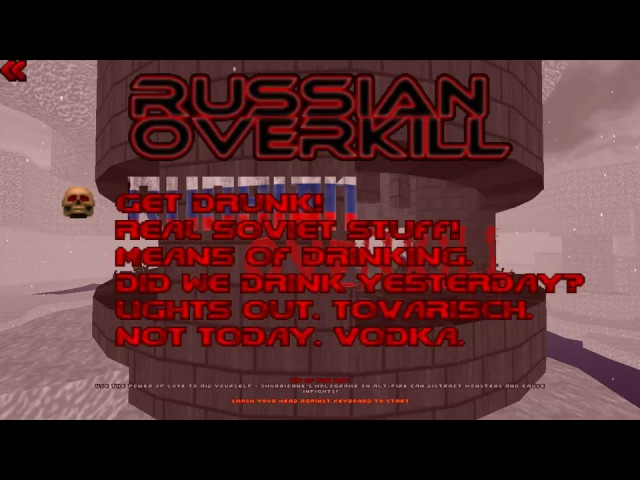Doom 2 мод russian overkill