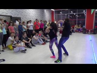 ZOUK Demo: Delov Dmitrii Vladimirova Nadezhda || Christmas Holidays in Novosibisk 5-7/01/17