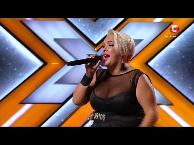 Юлия Лебеда-Somethings Got A Hold On Me -James cover | Шестой кастинг «Х-фактор-7» (01.10.2016)