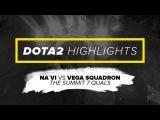 Na`Vi Dota2 Highlights vs Vega Squadron @ The Summit 7 Quals
