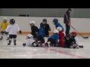 Детский хоккей г.Видное ЛД Арктика 33-я тренировка