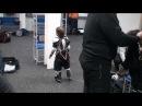 Детский хоккей г.Видное ЛД Арктика 6-я тренировка