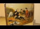 Обзор Картины репродукция Охотники на привале 70Х100 №1