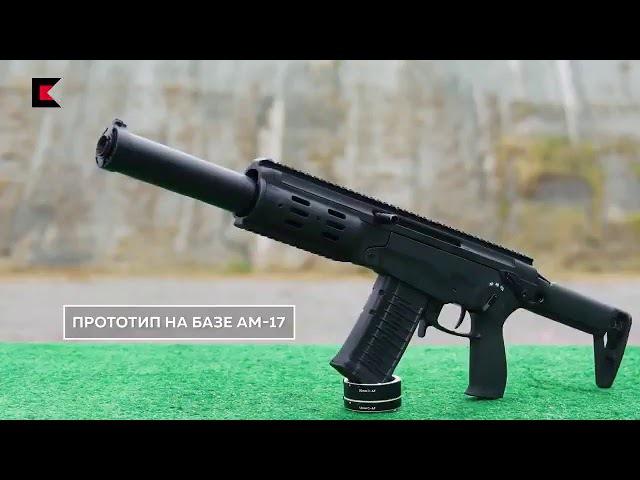 «Kalashnikov's Compact Assault Rifle Avtomat Malogabaritnyi AM 17 in