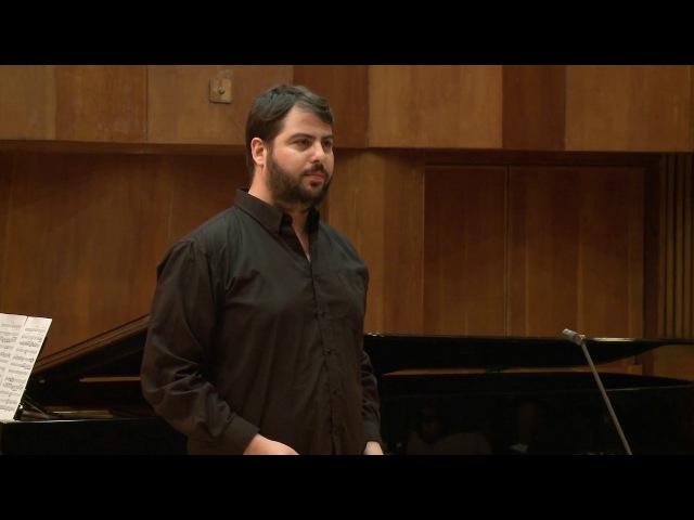Andreas Scholl Masterclass Jonathan H Avidan