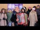 САМЫЙ ТРОГАТЕЛЬНЫЙ ФЛЕШМОБ в Снежном Я рыдал кадры Саур Могилы