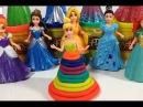 Play Doh Rainbow Ultimate Set Design-A-Dress Magiclip Disney Princess Cinderella Play Doh Arco Iris