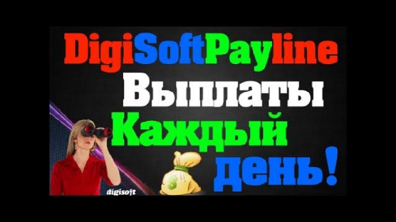 DigiSoft Payline Выплаты каждый день на Ваш кошелек!