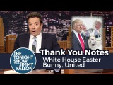 Thank You Notes White House Easter Bunny, United
