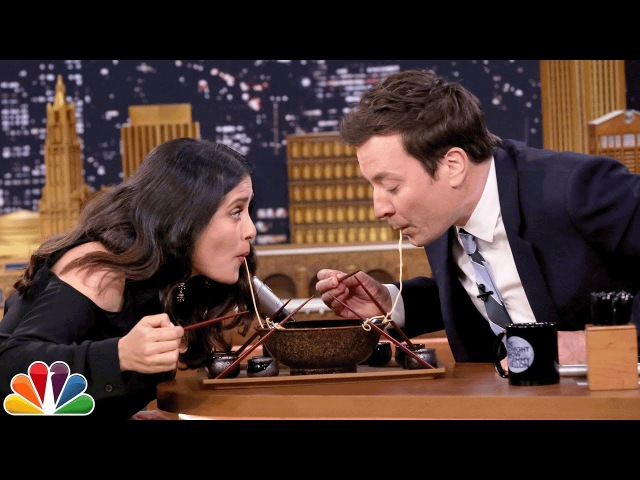 Сальма Хайек | The Tonight Show Starring Jimmy Fallon | 2017