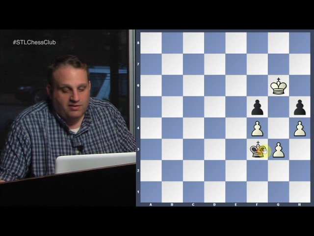 Difficult King Pawn Endings | Endgame Exclam!! - GM Ben Finegold