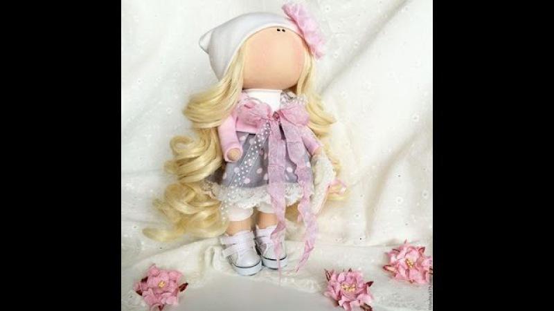 Часть 1.ТильдаКукла своими руками How to make a doll tilde