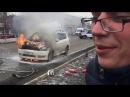 Машина сгорела | Пожарные приехали БЕЗ ВОДЫ | (полная версия) Шапкой туши