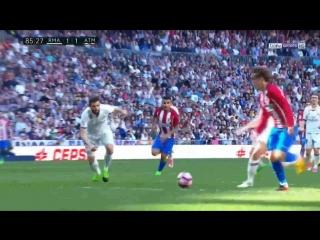 Футбол. Ла Лига. Гризманн лишил Реал победы в мадридском дерби.