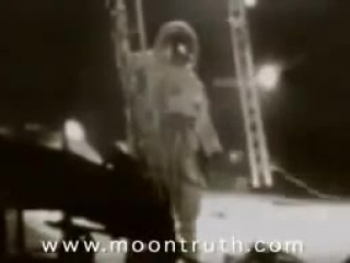 Уникальные кадры высадки американцев на Луне без монтажа