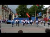 Школа танцев LiLu на городском параде организаций г. Жодино 3_07_2017