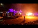 """Парк киноприключений (Сетунь, Москва), каскадерское шоу """"Русский Форсаж - 3"""""""