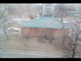 15.04.17. 18:30 УЛН. А у нас снежок