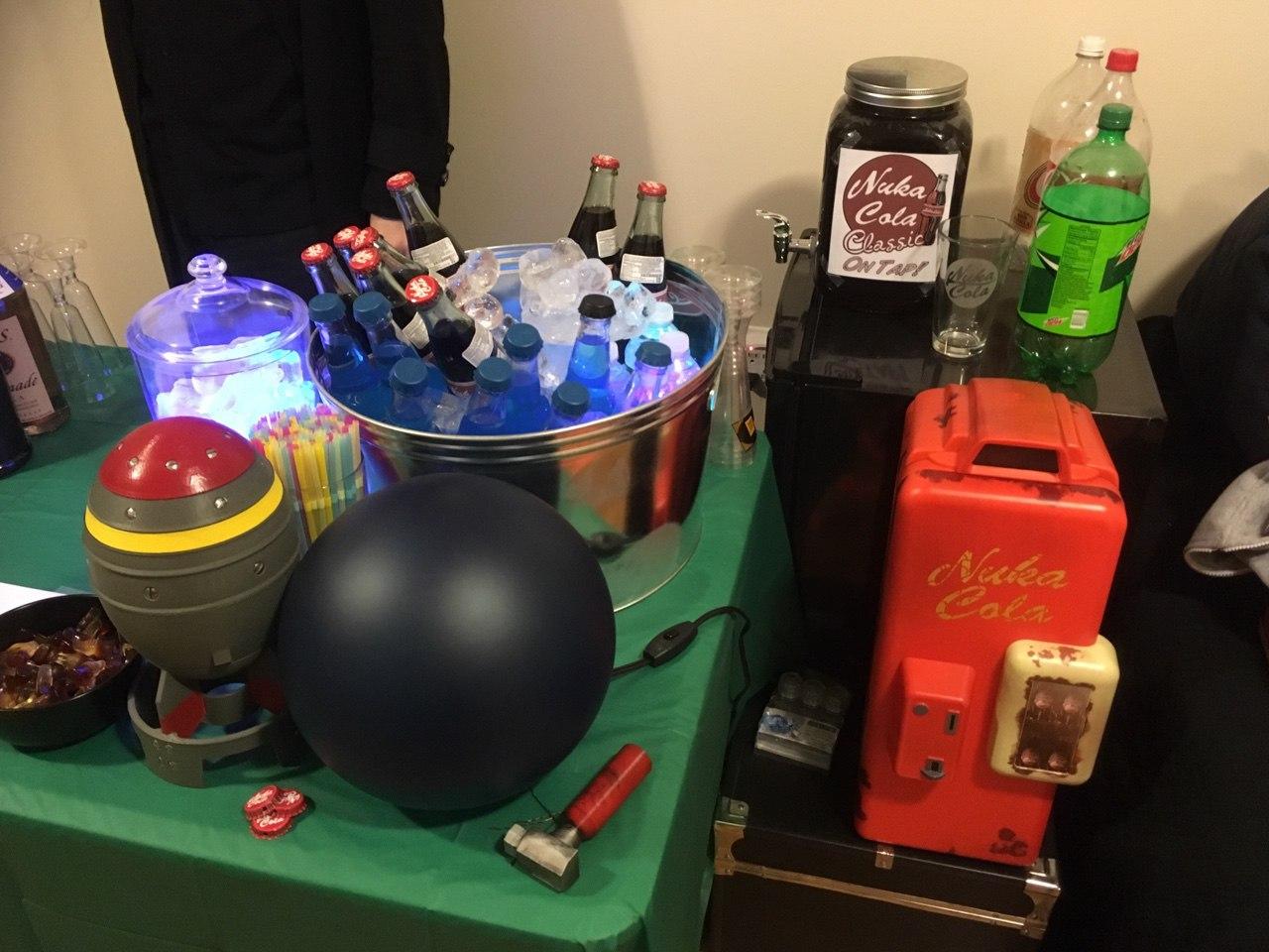 Вечеринка в стиле Fallout