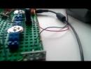 JHL amplifier on lego bricks