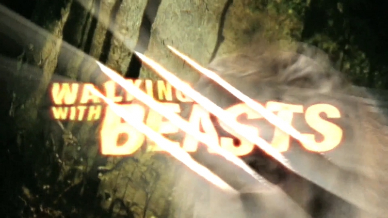 BBC: Прогулки с чудовищами 3 серия Земля гигантов